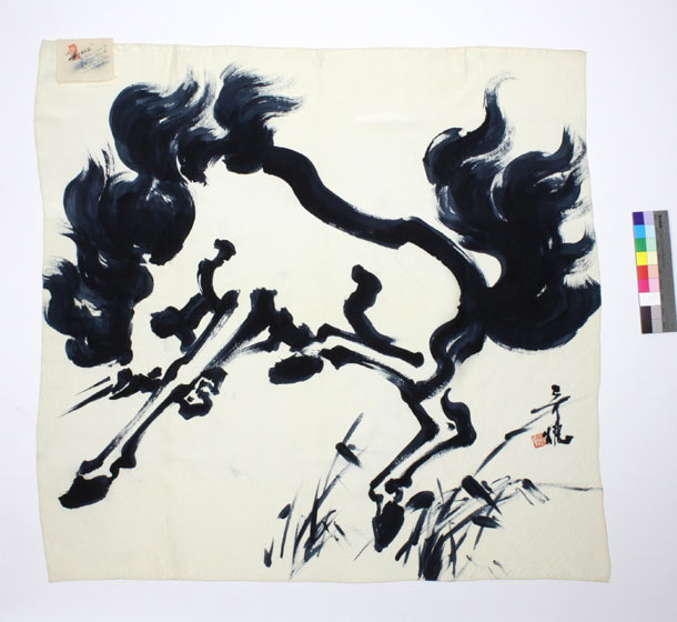 "Tyrus Wong ""Water to Paper, Paint to Sky"" @ Disney Family Museum, SF: 11.-WDFM_Wong_SilkScarf.jpg"