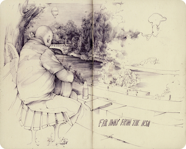 New Sketchbook Works and Paintings by Pat Perry: EUsketchbook_17.jpg