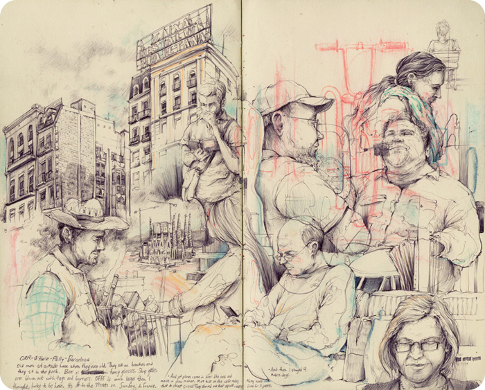 New Sketchbook Works and Paintings by Pat Perry: EUsketchbook_6.jpg
