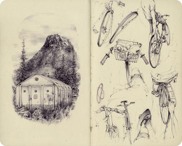 New Sketchbook Works and Paintings by Pat Perry: EUsketchbook_9.jpg