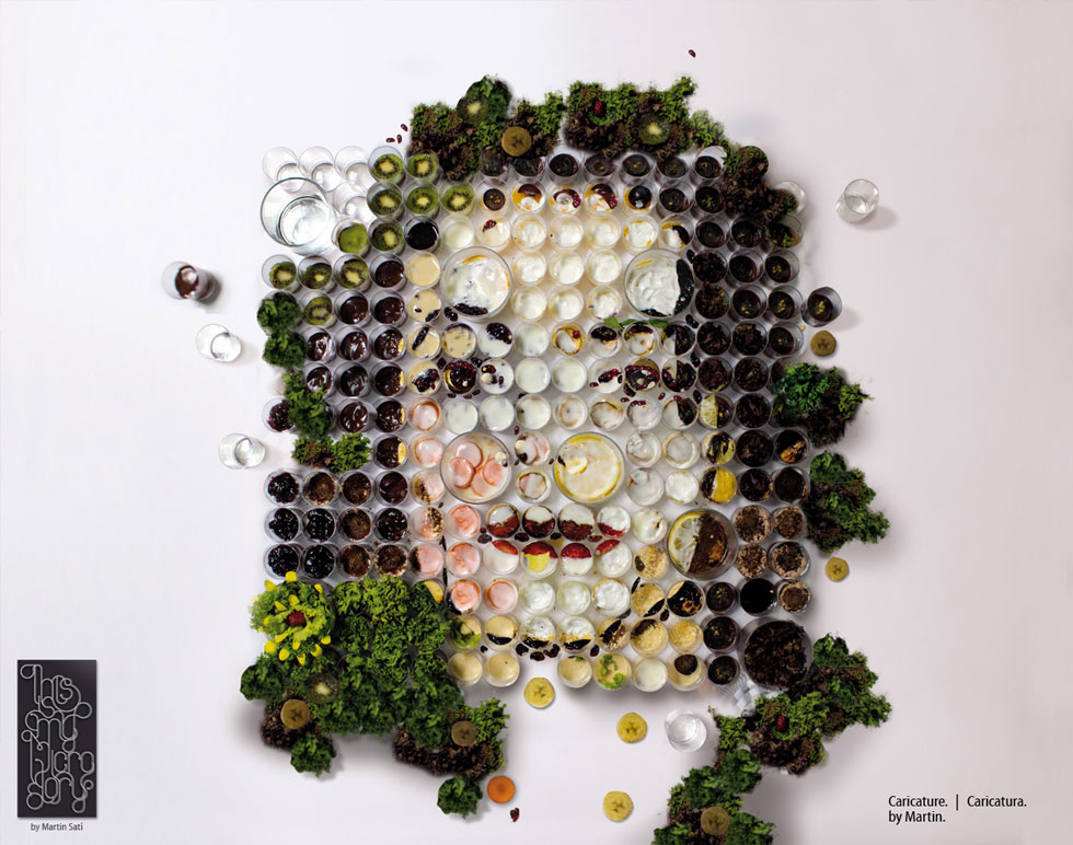 """El Banquete,"" Fruit and Vegetable Portraits by Martin Satí: img1367218927931.jpg"