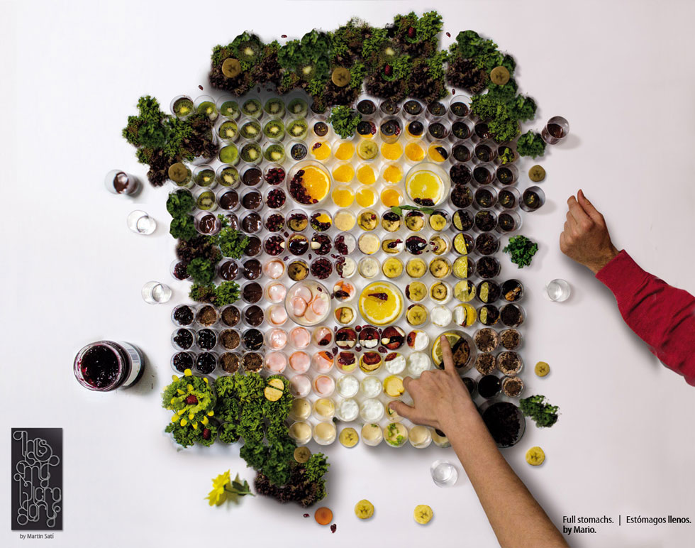 """El Banquete,"" Fruit and Vegetable Portraits by Martin Satí: img1367219021142.jpg"