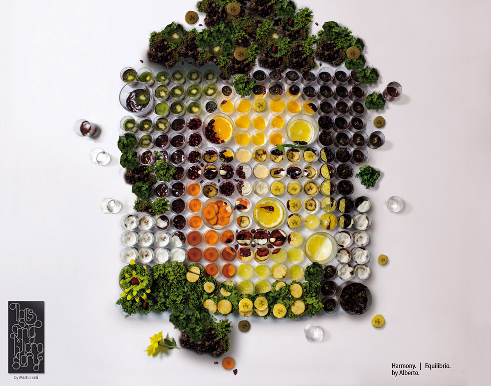 """El Banquete,"" Fruit and Vegetable Portraits by Martin Satí: img1367219060811.jpg"