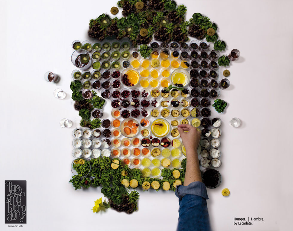 """El Banquete,"" Fruit and Vegetable Portraits by Martin Satí: img1367219082343.jpg"