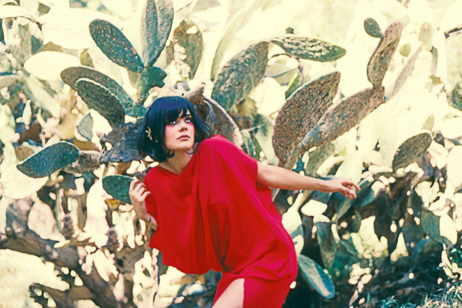 Bat For Lashes by Neil Krug: 2- Bat for Lashes - Neil Krug - 2.jpg