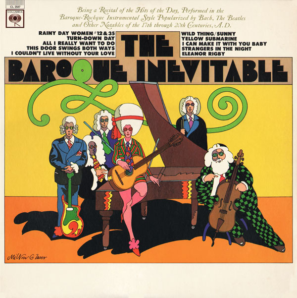 Celebrating Psychedelic and Pop Art in Album Covers: 01 Milton Glaser- cover for The Baroque Inevitable.jpg
