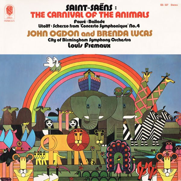 Celebrating Psychedelic and Pop Art in Album Covers: 05 Cliff Richards- Carnival of the Animals.jpg