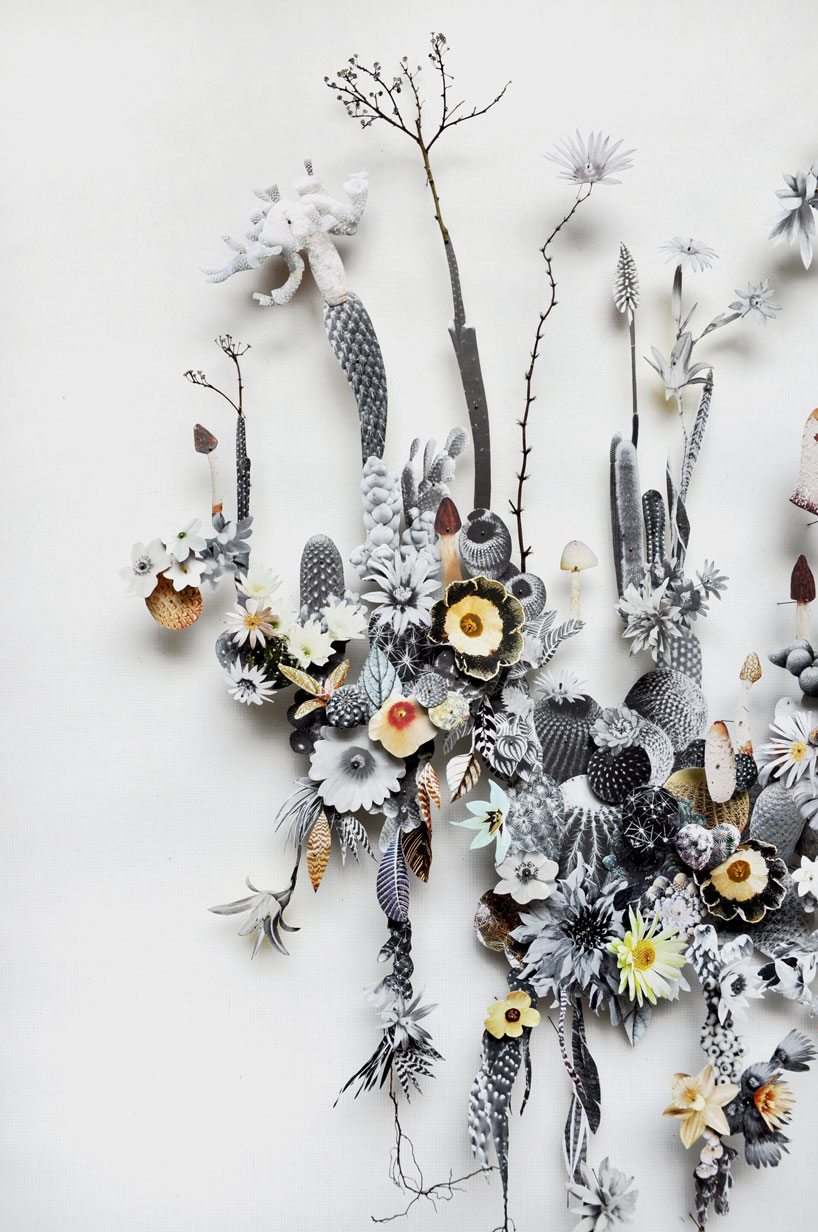 Collaged Flowerscapes by Anne Ten Donkelaar: anne-ten-donkelaar-flower-constructions-designboom-08.jpg