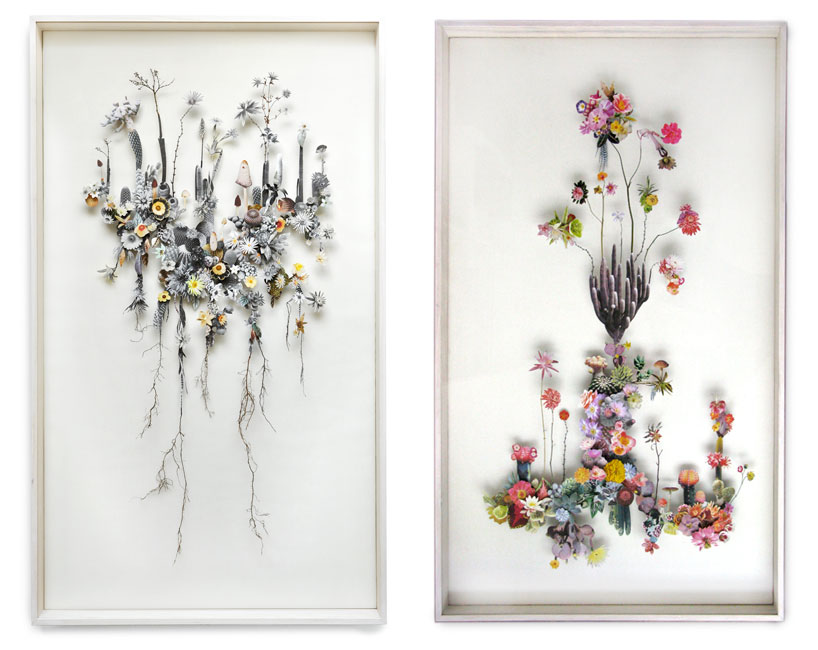 Collaged Flowerscapes by Anne Ten Donkelaar: anne-ten-donkelaar-flower-constructions-designboom-13.jpg