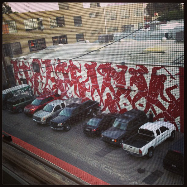 New Cleon Peterson mural in Los Angeles: jux_cleon_peterson_2.jpg