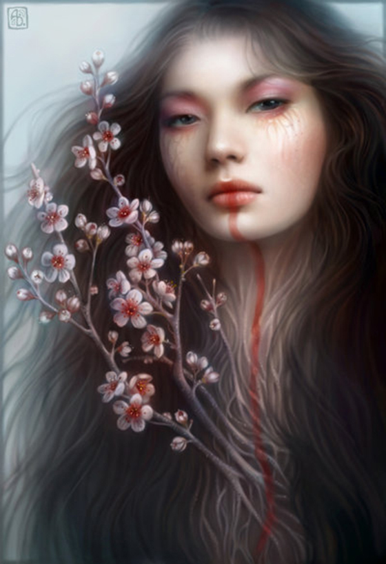 The Fantasy Art of Anna Dittmann: Blossom.jpg