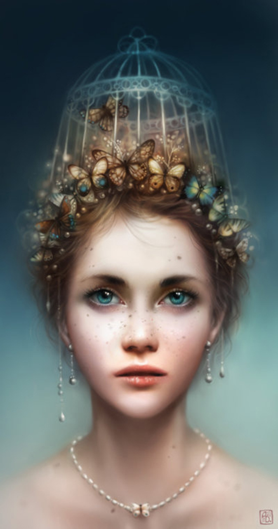 The Fantasy Art of Anna Dittmann: caged.jpg