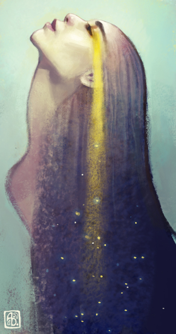 The Fantasy Art of Anna Dittmann: constellation_by_escume-d612k3r.jpg
