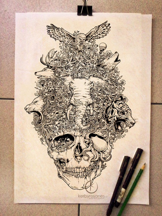 The Doodle Art of Kerby Rosanes: tumblr_mp1sc5XTb71qmjp01o1_500.jpg