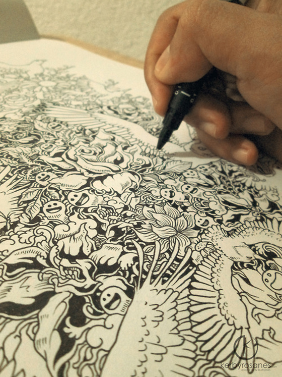 The Doodle Art of Kerby Rosanes: tumblr_mr1zdaFWGA1qmjp01o5_500.jpg