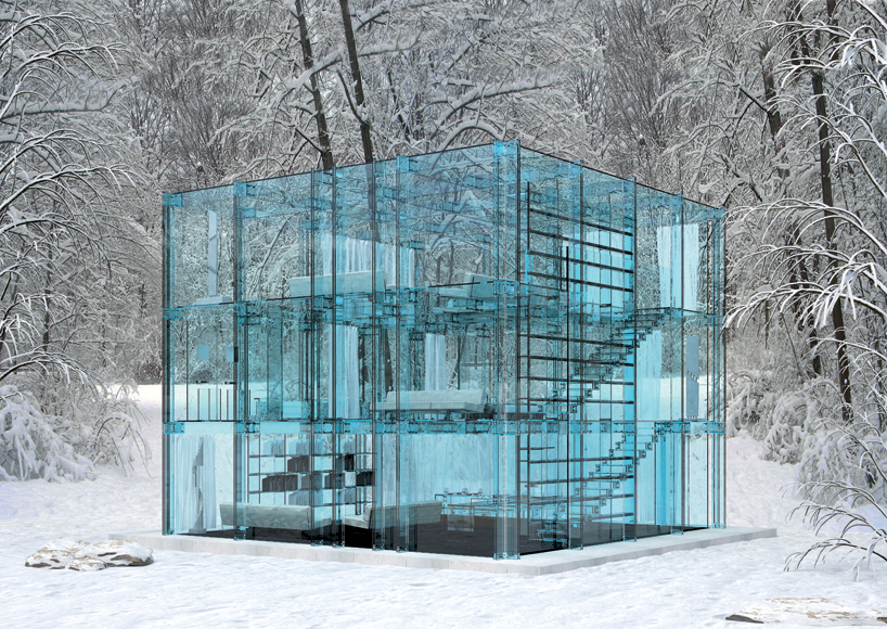 Santabrogiomilano Architects' Glass House Concepts: glasshouse_01.jpg
