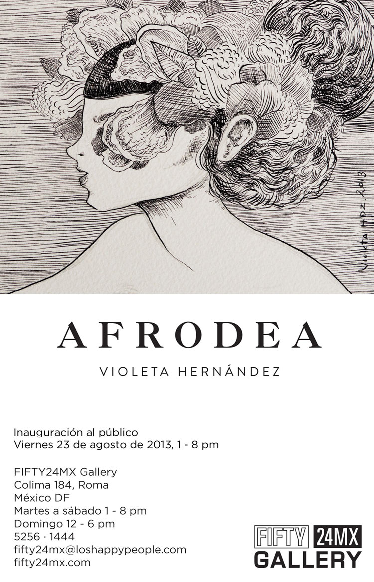 "Violeta Hernandez ""Afrodea"" @ FIFTY24MX Gallery, Mexico City: 01-1.jpg"