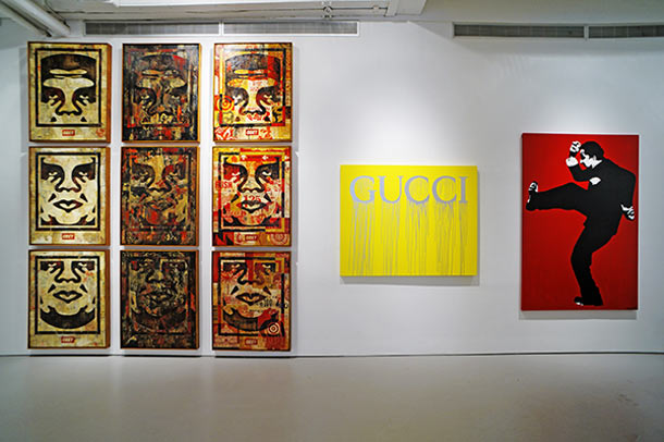 "Last Days to See ""10 Years of Wooster Collective"" @ Jonathan LeVine Gallery, NYC: Install19_L.jpg"