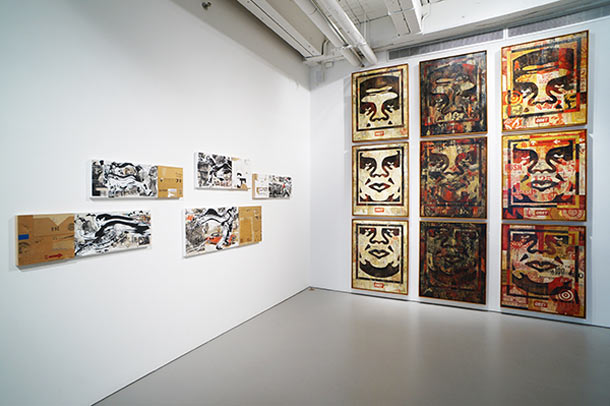 "Last Days to See ""10 Years of Wooster Collective"" @ Jonathan LeVine Gallery, NYC: Install27_L.jpg"