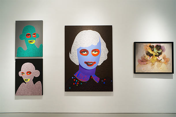 "Last Days to See ""10 Years of Wooster Collective"" @ Jonathan LeVine Gallery, NYC: Install28_L.jpg"