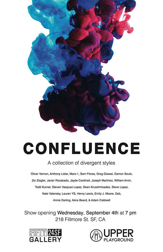"""Confluence"" @ FIFTY24SF, San Francisco: flier.jpg"