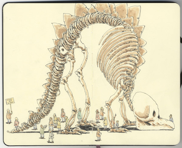 Sketchbook Illustrations by Mattias Adolfsson: 031465b1c2352e0ff85b4c31a502411f.jpg