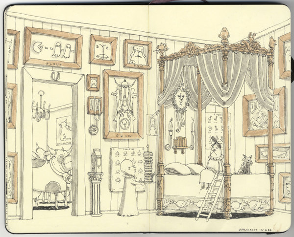 Sketchbook Illustrations by Mattias Adolfsson: 17b2465b77655f8de0d8feeded635dfc.jpg
