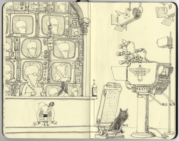 Sketchbook Illustrations by Mattias Adolfsson: 20b8e0f392276f747a5c7ba6aa92125f.jpg