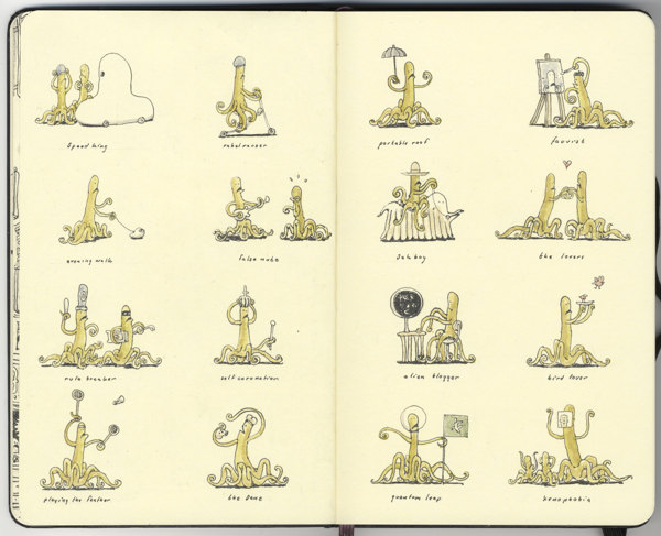 Sketchbook Illustrations by Mattias Adolfsson: 3b85c57eb168a768d68de4dc7b38c901.jpg
