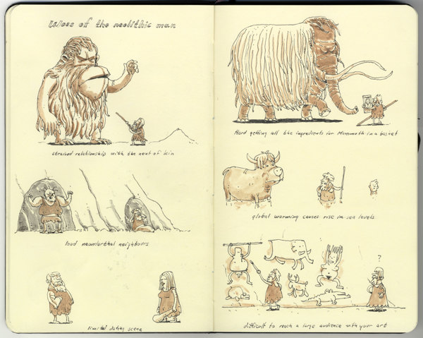 Sketchbook Illustrations by Mattias Adolfsson: 5b105f3c950fc3e5624c00194a975a56.jpg