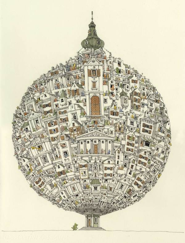 Sketchbook Illustrations by Mattias Adolfsson: 69c4e93df1f2b3c3077a3c613409ff9d.jpg