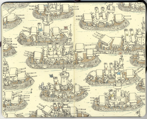 Sketchbook Illustrations by Mattias Adolfsson: 848bdd7218724e1ba89f7b722e831d0c.jpg