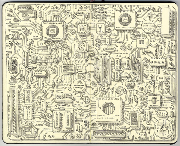 Sketchbook Illustrations by Mattias Adolfsson: af29194cfac4c053f69513c1dff0ad81.jpg