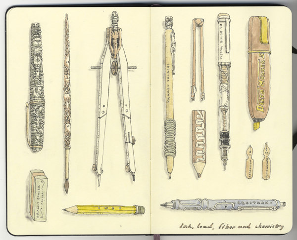Sketchbook Illustrations by Mattias Adolfsson: c455165f3b223c48bad44e12749aabf8.jpg