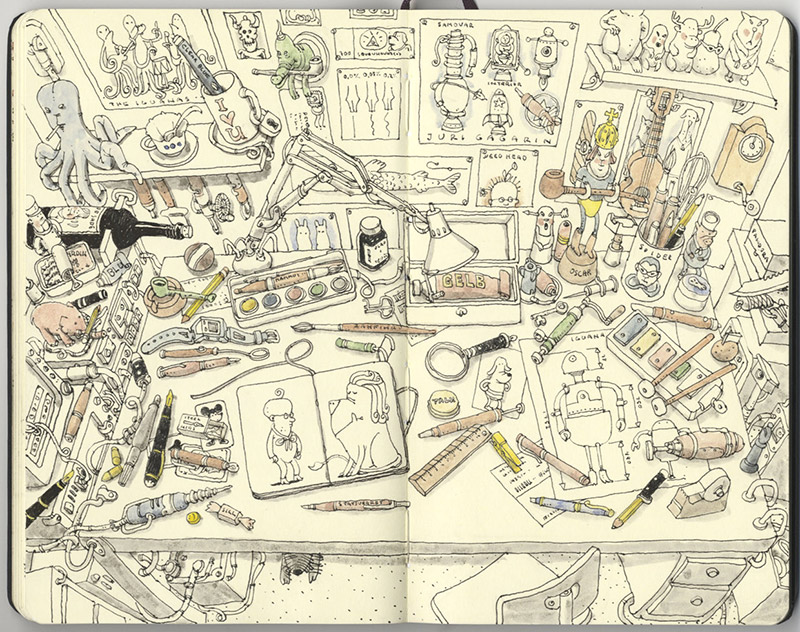 Sketchbook Illustrations by Mattias Adolfsson: mattias-adolfsson-sketch-book-1.jpg