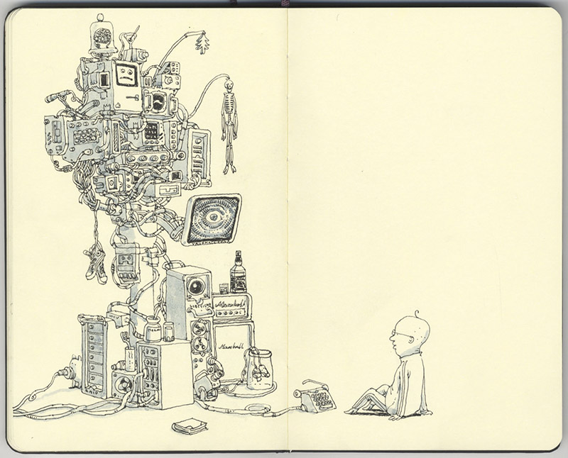 Sketchbook Illustrations by Mattias Adolfsson: mattias-adolfsson-sketch-book-2.jpg
