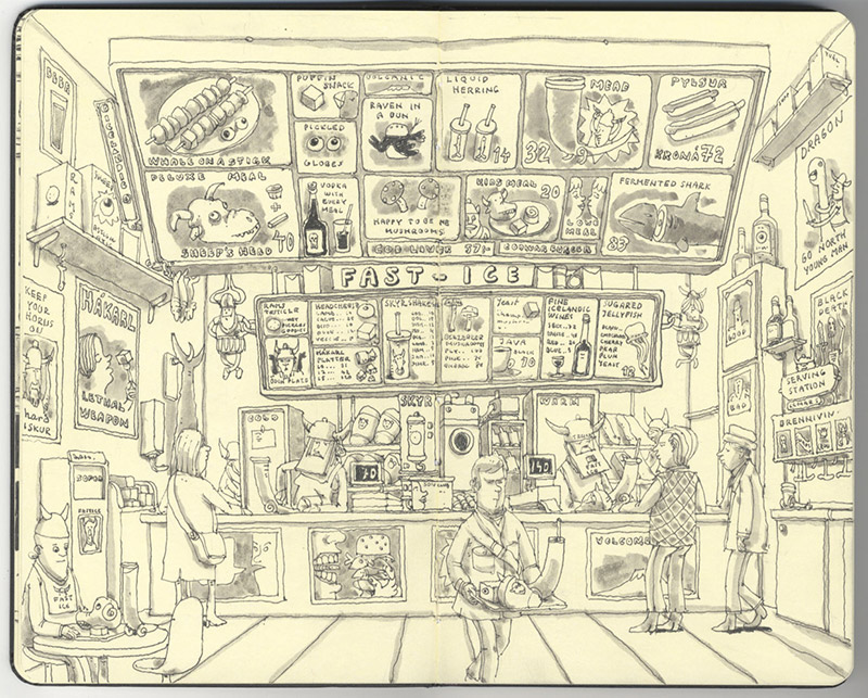 Sketchbook Illustrations by Mattias Adolfsson: mattias-adolfsson-sketch-book-3.jpg