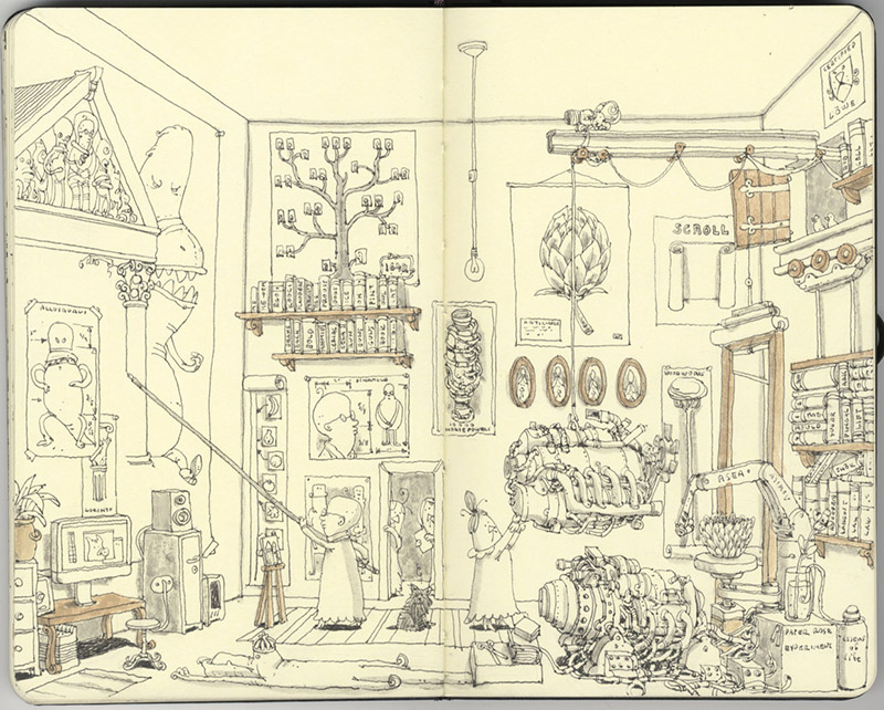 Sketchbook Illustrations by Mattias Adolfsson: mattias-adolfsson-sketch-book-5.jpg