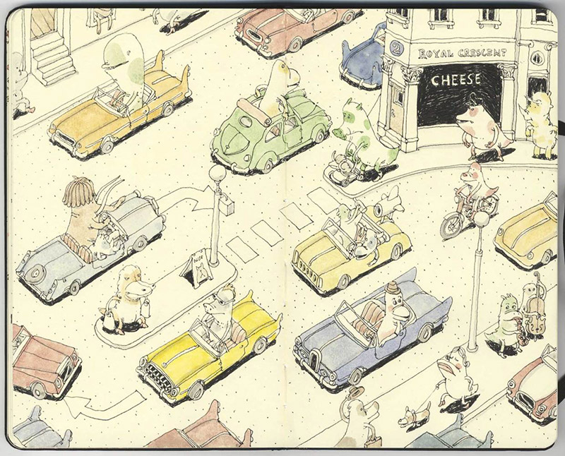 Sketchbook Illustrations by Mattias Adolfsson: mattias-adolfsson-sketch-book-6.jpg