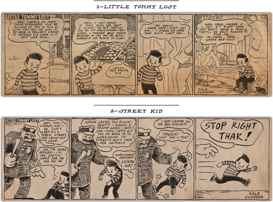 Cole Closser's 'Little Tommy Lost': littletommylost01.jpg
