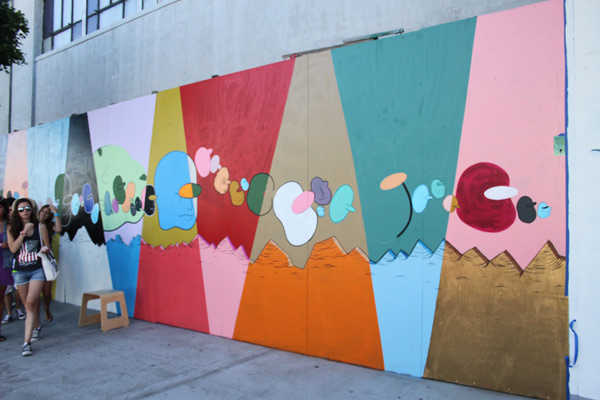 "In L.A.: Merry Karnowsky Gallery ""SUMMER SESSIONS: LIVE PAINTING"": tar_7219.jpg"