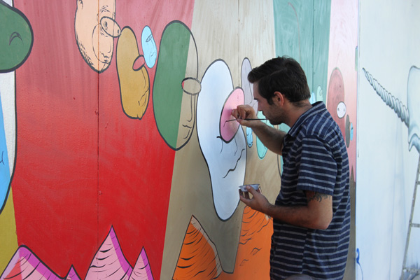 "In L.A.: Merry Karnowsky Gallery ""SUMMER SESSIONS: LIVE PAINTING"": tar_7235.jpg"