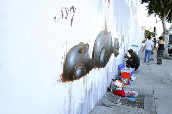 "In L.A.: Merry Karnowsky Gallery ""SUMMER SESSIONS: LIVE PAINTING"": tar_7238.jpg"