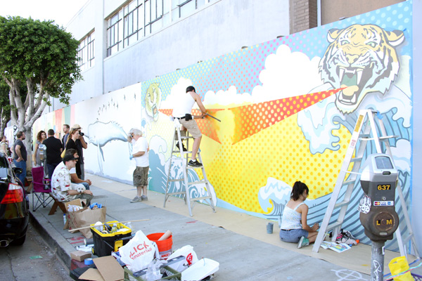 "In L.A.: Merry Karnowsky Gallery ""SUMMER SESSIONS: LIVE PAINTING"": tar_7305.jpg"