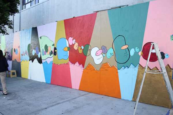 "In L.A.: Merry Karnowsky Gallery ""SUMMER SESSIONS: LIVE PAINTING"": tar_7320.jpg"