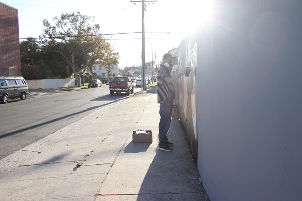 "In L.A.: Merry Karnowsky Gallery ""SUMMER SESSIONS: LIVE PAINTING"": tar_7365.jpg"