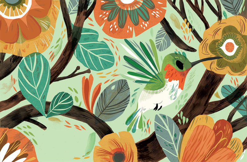 The Whimsy of Meg Hunt: PageImage-527247-4917355-hummingbirdcard.jpg