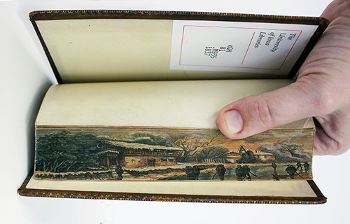Fore-Edge Painting, Scenes Painted on the Edges of Book Pages: tumblr_msiatt1iIt1rqo4zeo7_500.jpg