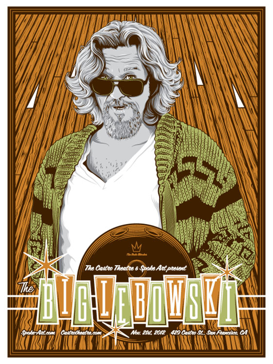 Poster Art by Tracie Ching: TChing-TheBigLebowski.jpg