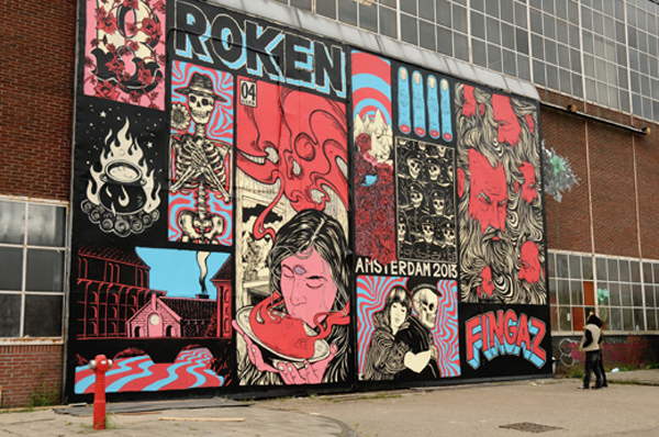 New wall and upcoming show from Broken Fingaz: jux_broken_fingaz10.jpg